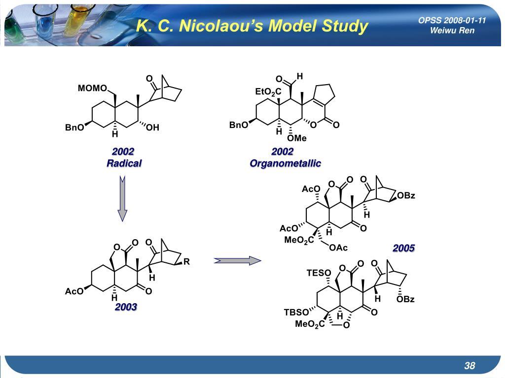 K. C. Nicolaou's Model Study