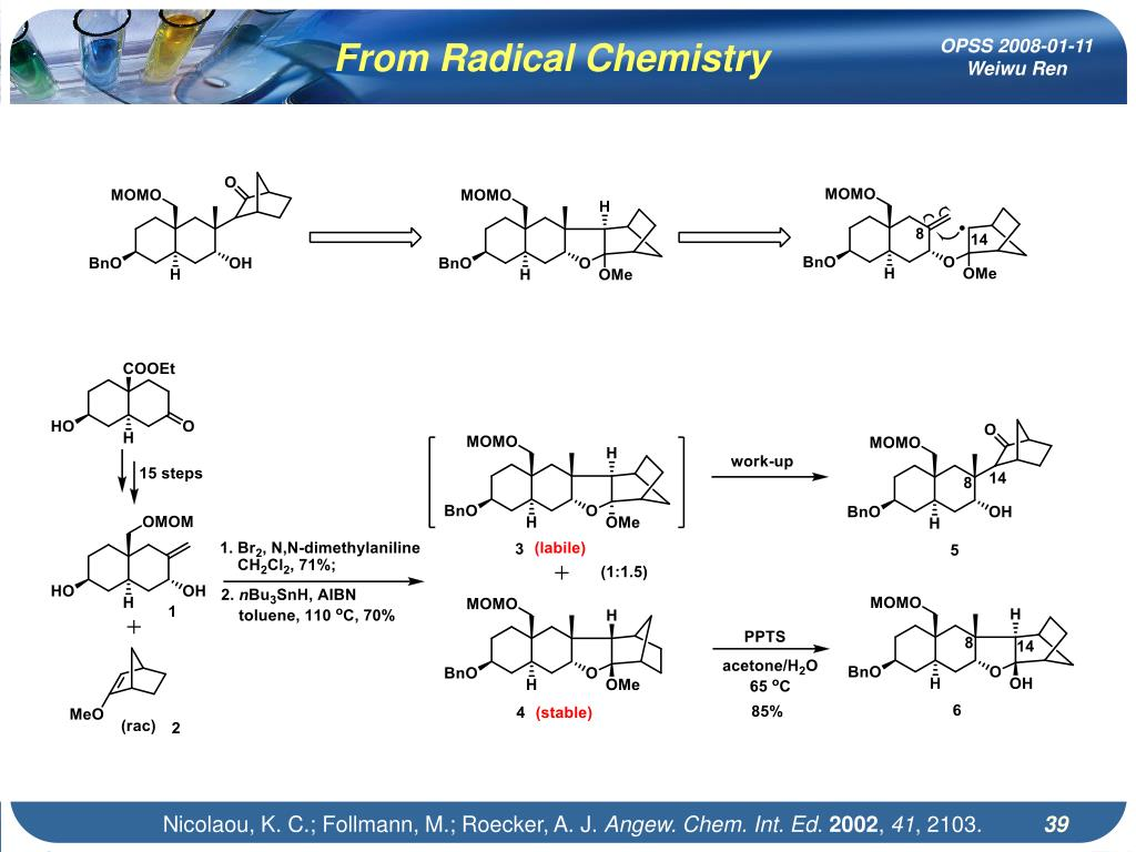 From Radical Chemistry