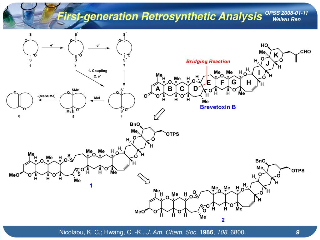 First-generation Retrosynthetic Analysis