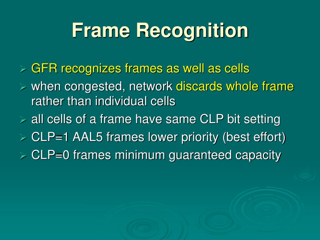 Frame Recognition