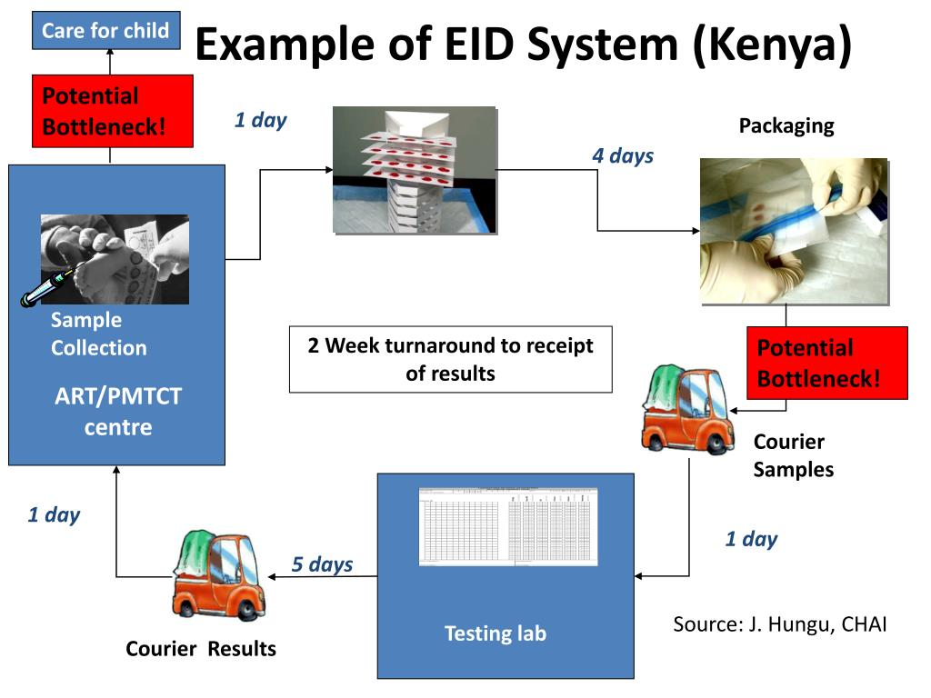 Example of EID System (Kenya)