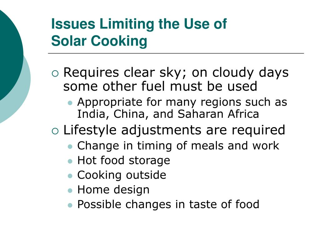 Issues Limiting the Use of