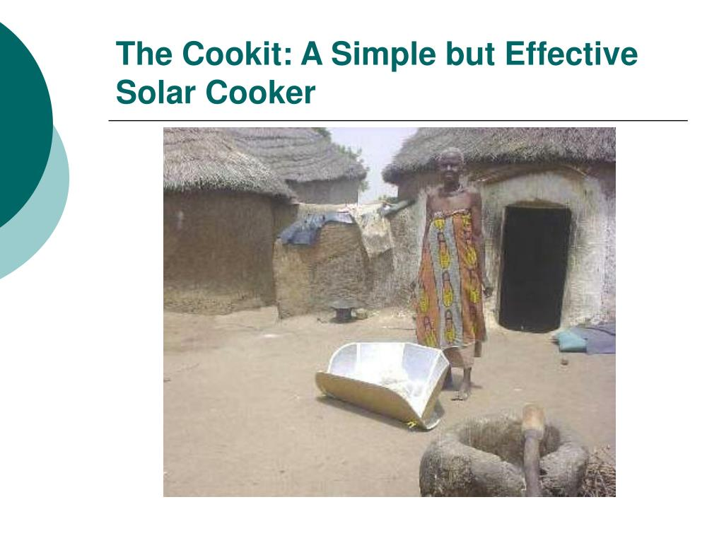 The Cookit: A Simple but Effective Solar Cooker