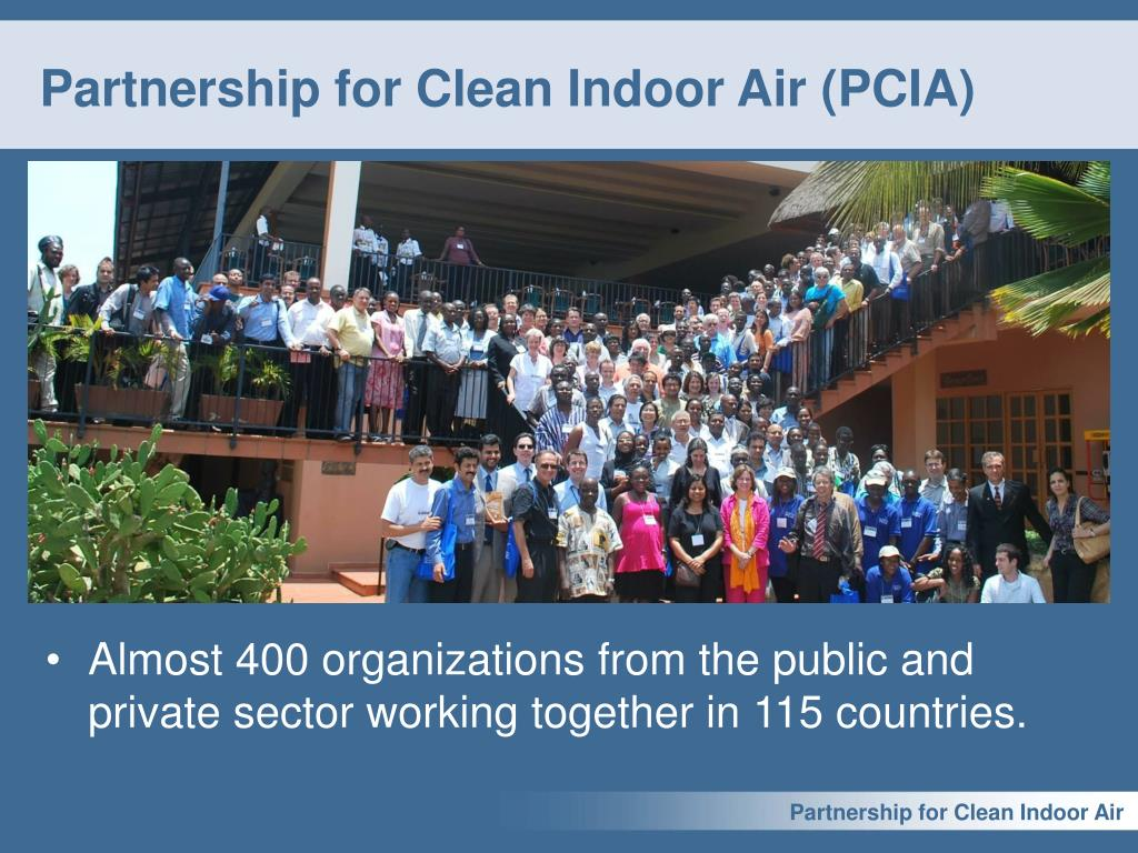 Partnership for Clean Indoor Air (PCIA)