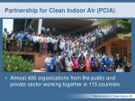 partnership for clean indoor air pcia