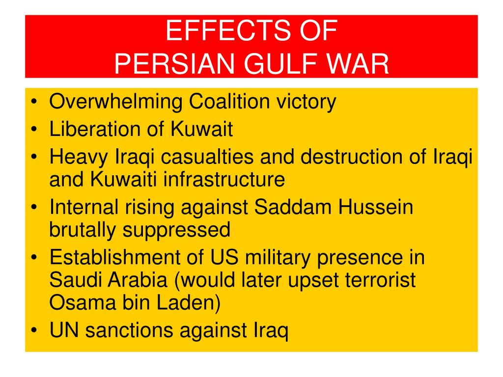 gulf war between iraq and kuwait essay