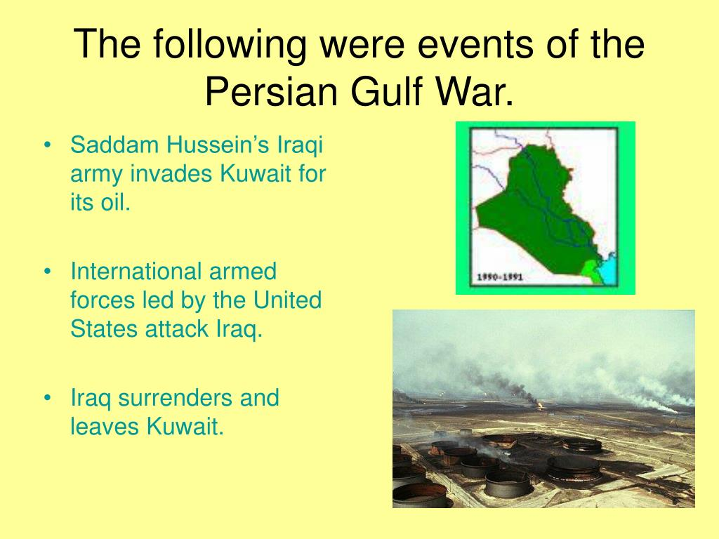analysis of the persian gulf war reasons for the victory over saddam hussein A war of limited success: the us decision not to overthrow saddam hussein at the end of the gulf war 1991 on february 27th, 1991 president bush decided to end the allied offensive against iraq operation desert storm liberated kuwait after defeating the iraqi forces in the.