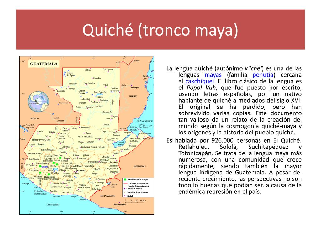 Quiché (tronco maya)