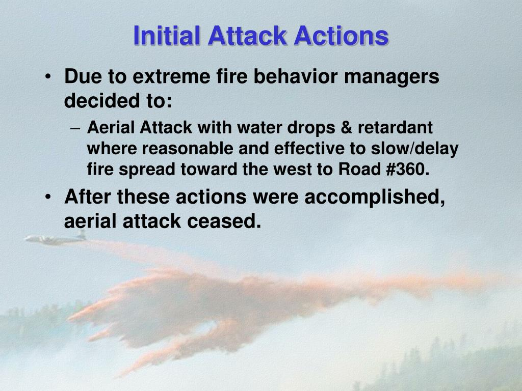 Initial Attack Actions