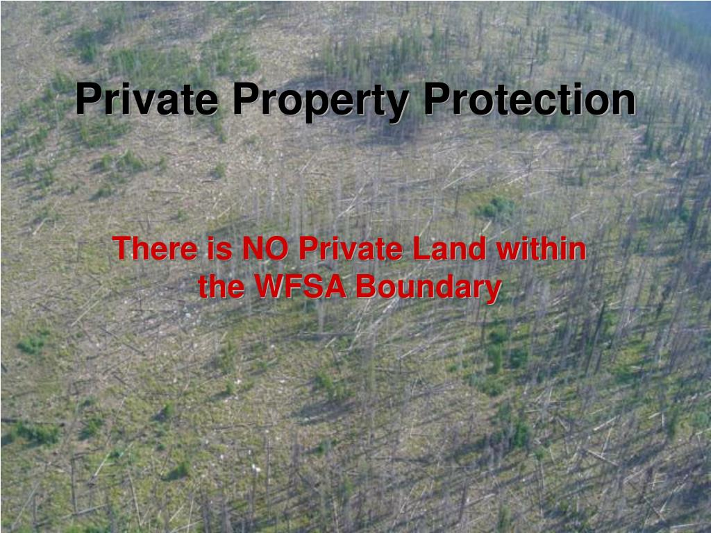 Private Property Protection