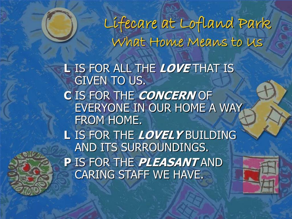 Lifecare at Lofland Park