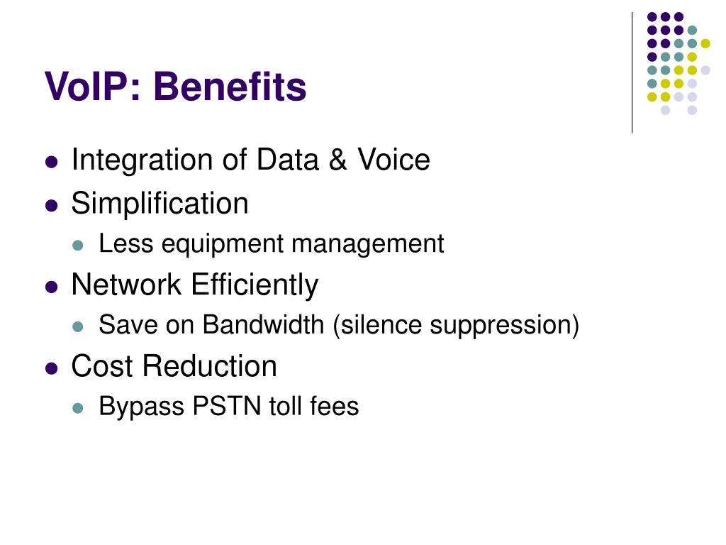 VoIP: Benefits
