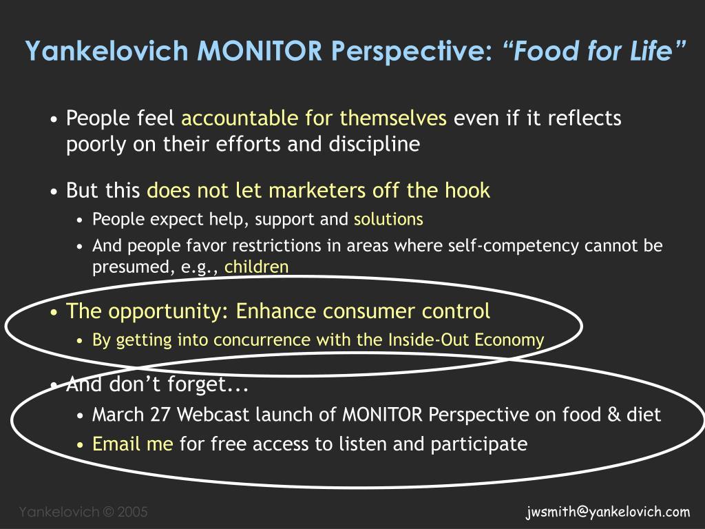 Yankelovich MONITOR Perspective: