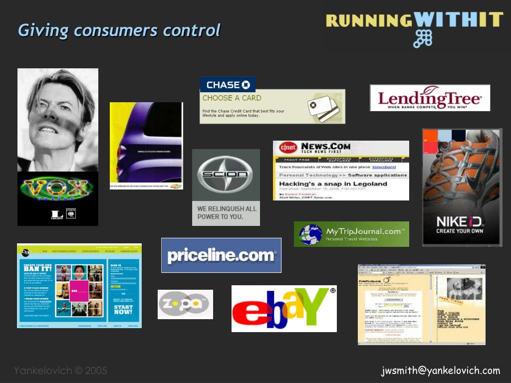 Giving consumers control