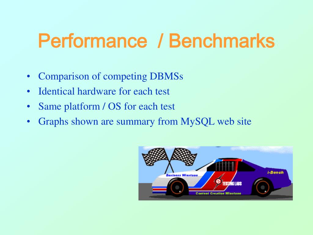 Performance  / Benchmarks
