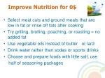 improve nutrition for 019