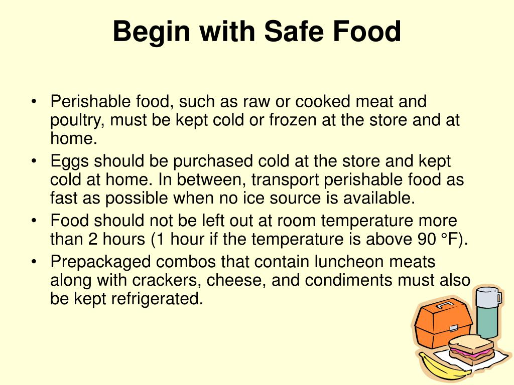 Begin with Safe Food