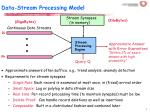 data stream processing model