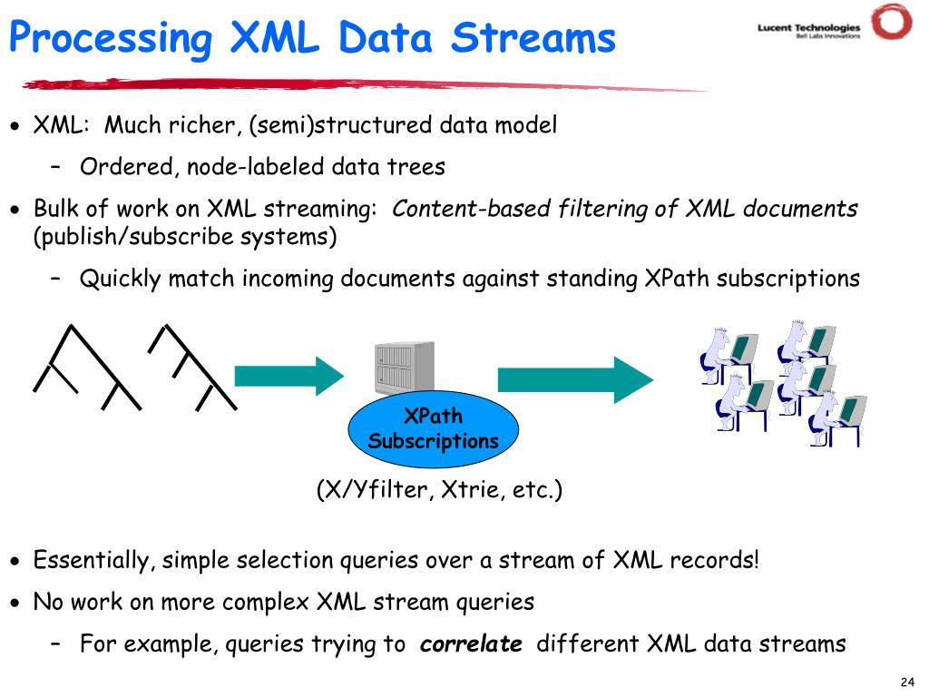 XPath Subscriptions