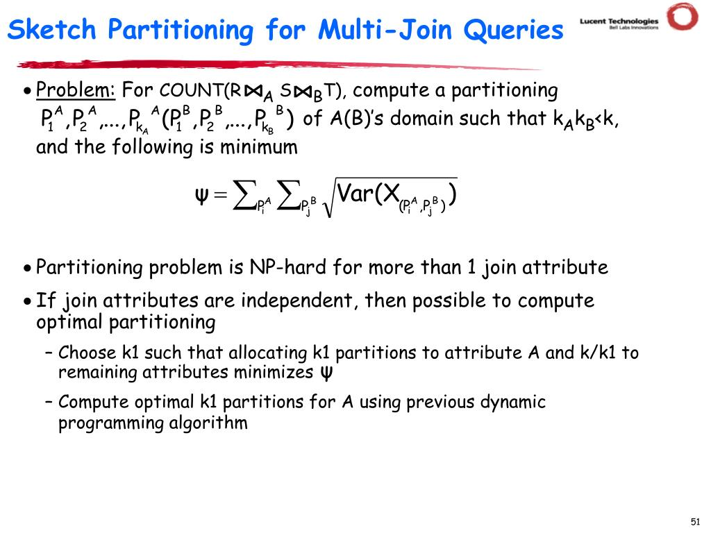 Sketch Partitioning for Multi-Join Queries