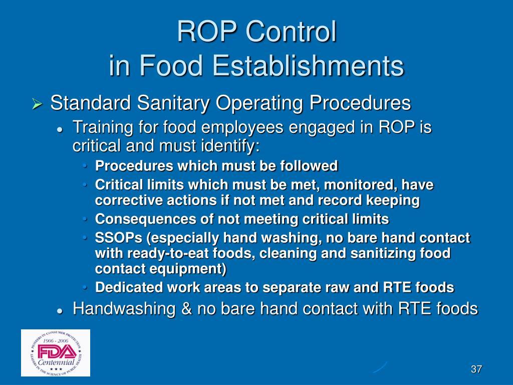 ROP Control