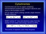 cytochromes