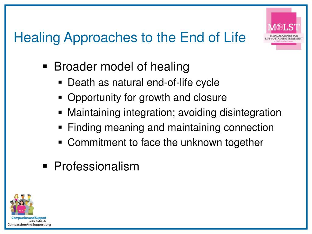 Healing Approaches to the End of Life