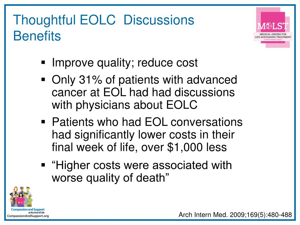 Thoughtful EOLC  Discussions