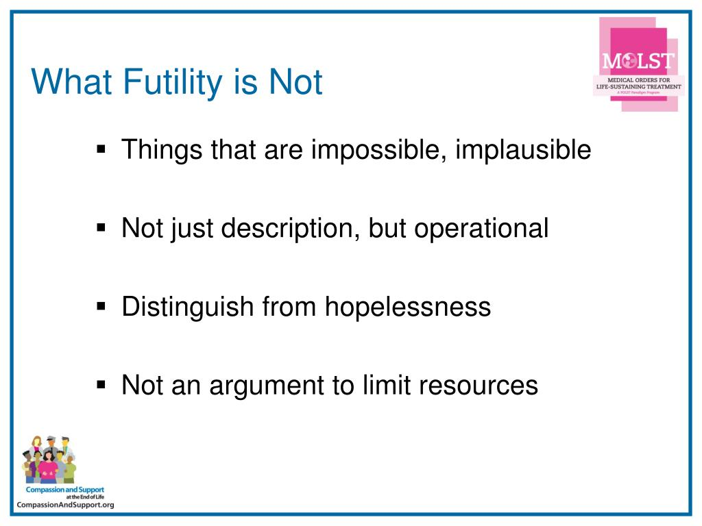 What Futility is Not