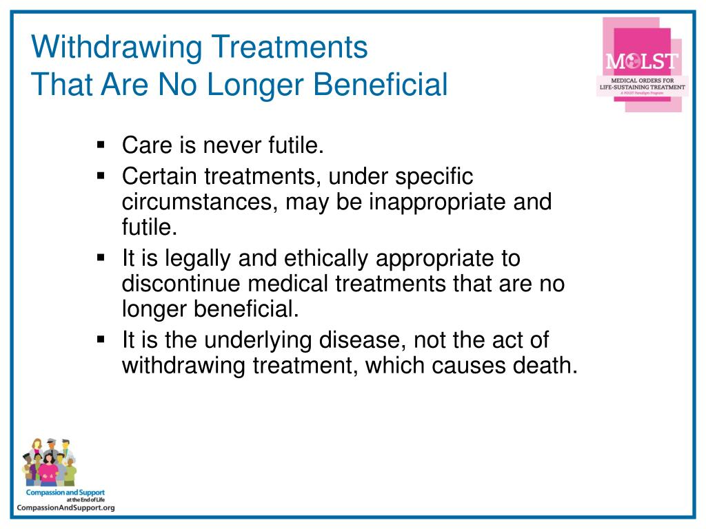Withdrawing Treatments