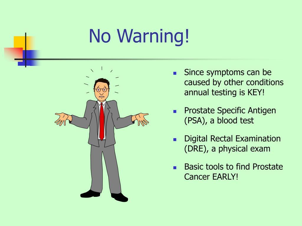 No Warning!
