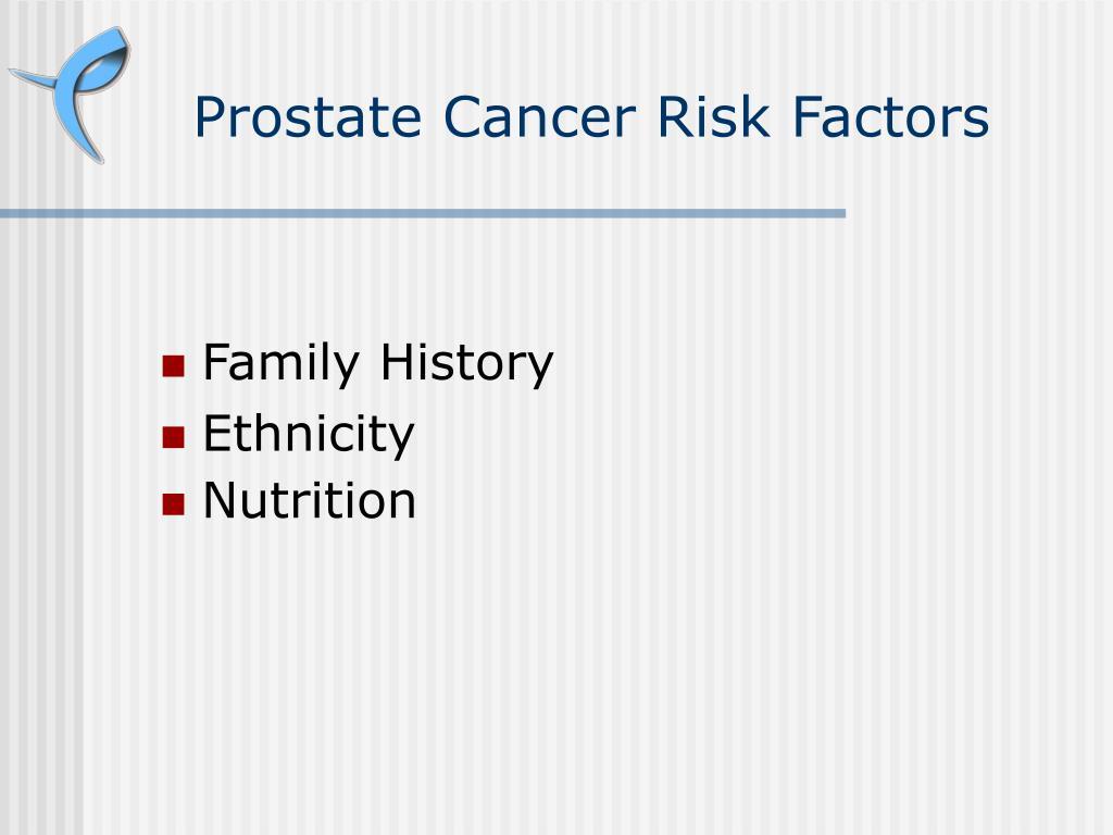 Prostate Cancer Risk Factors