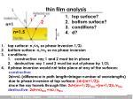 thin film analysis