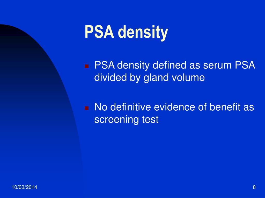 PSA density
