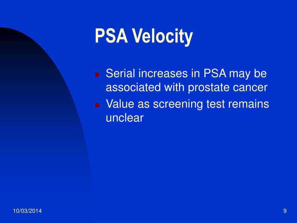PSA Velocity
