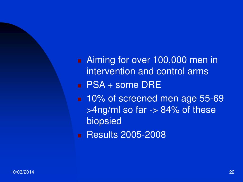 Aiming for over 100,000 men in intervention and control arms