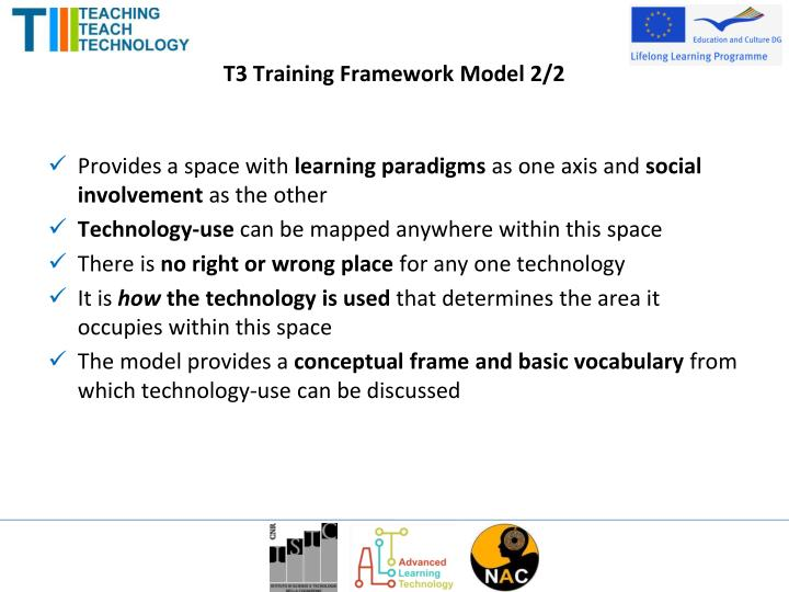 T3 Training Framework Model 2/2