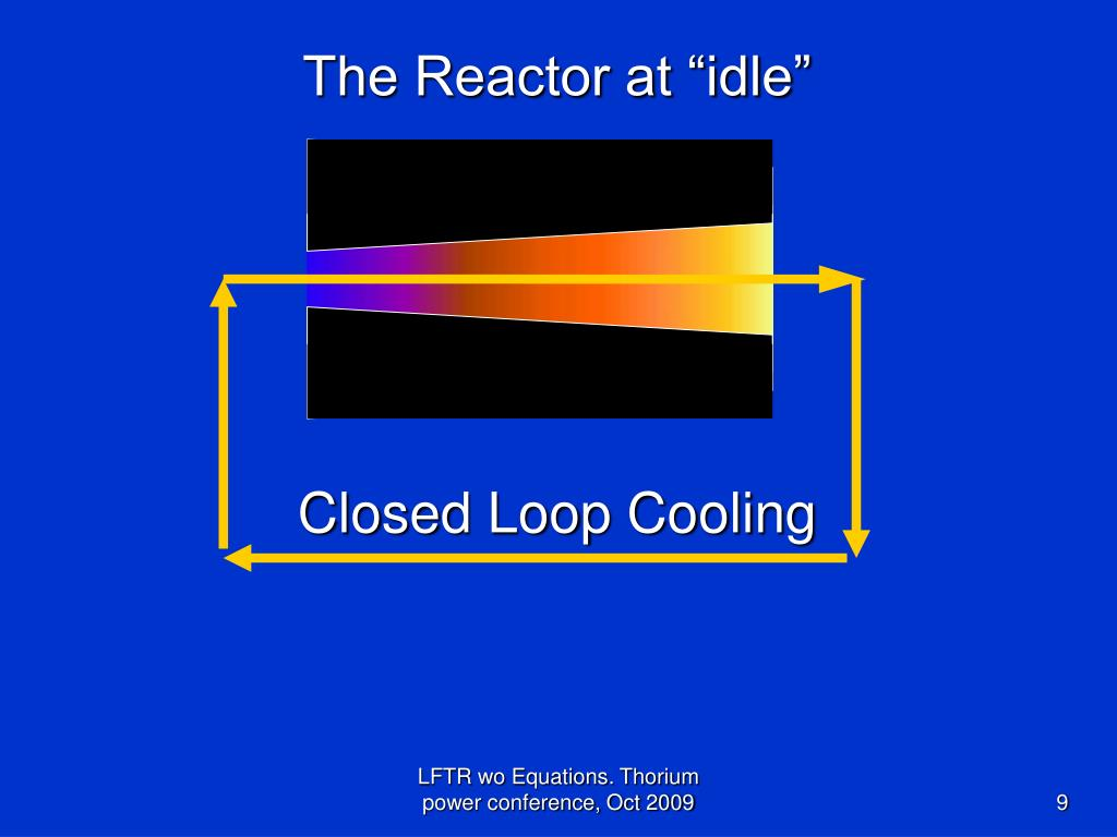 "The Reactor at ""idle"""