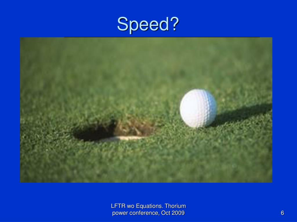 Speed?