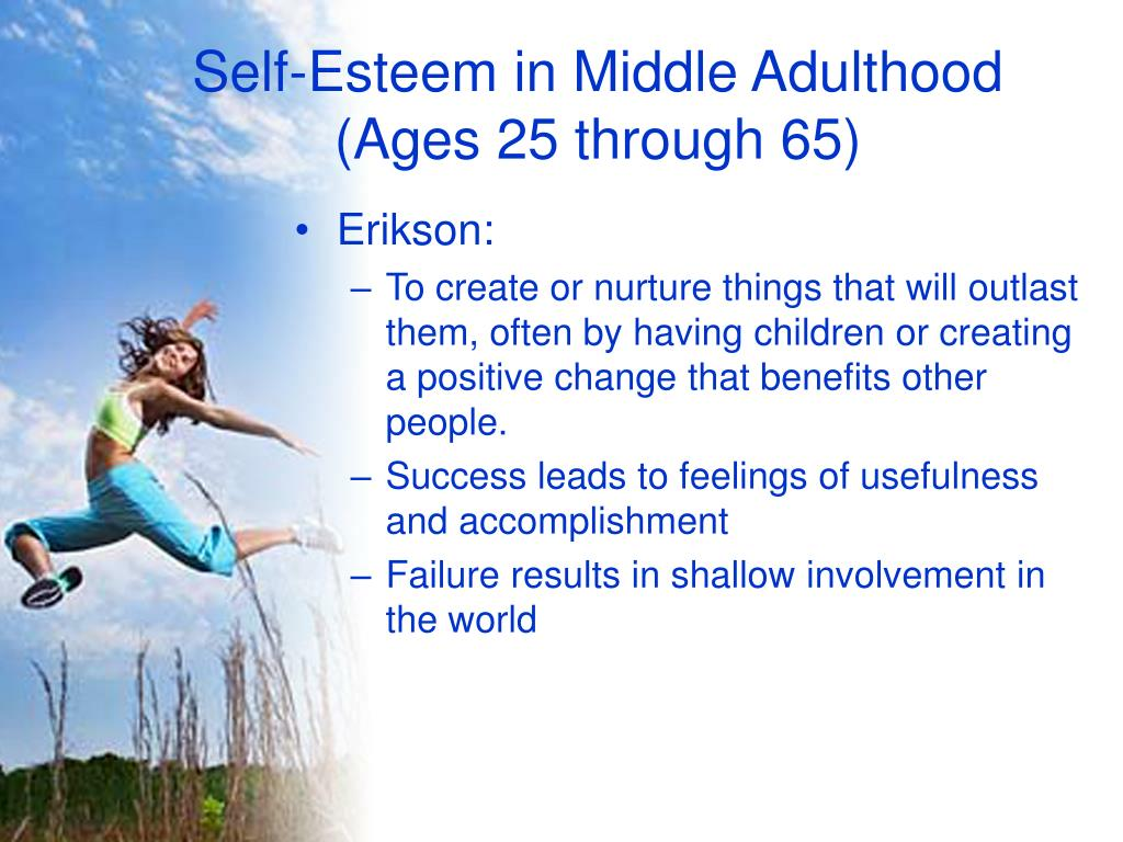 Self-Esteem in Middle Adulthood