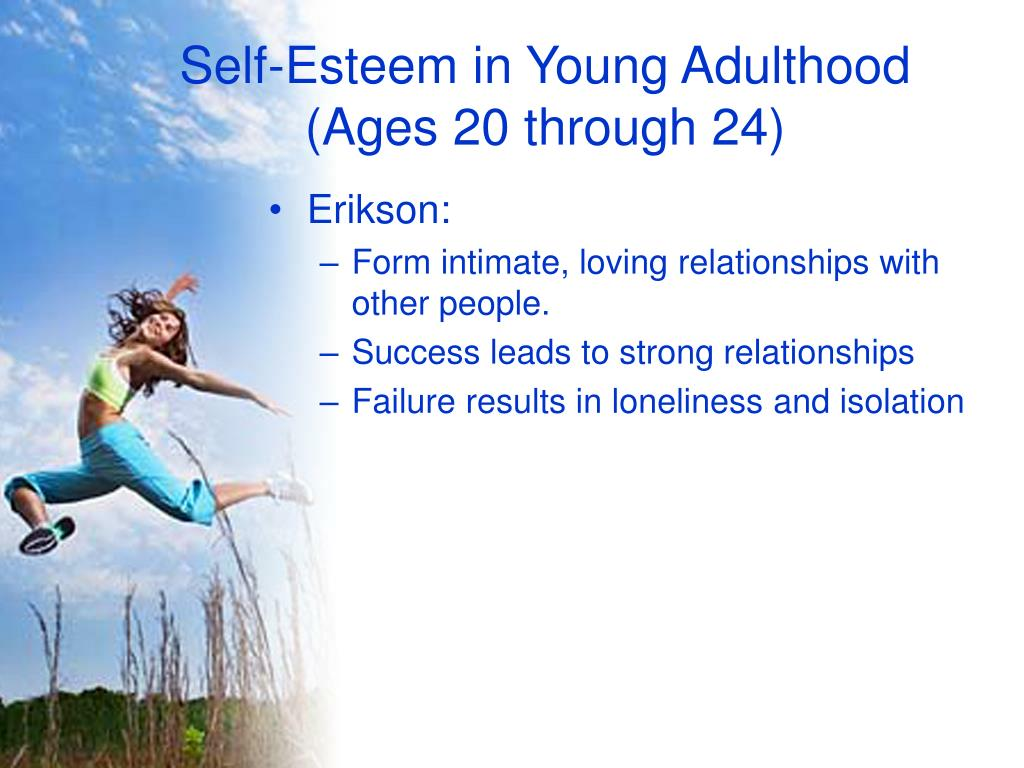 Self-Esteem in Young Adulthood