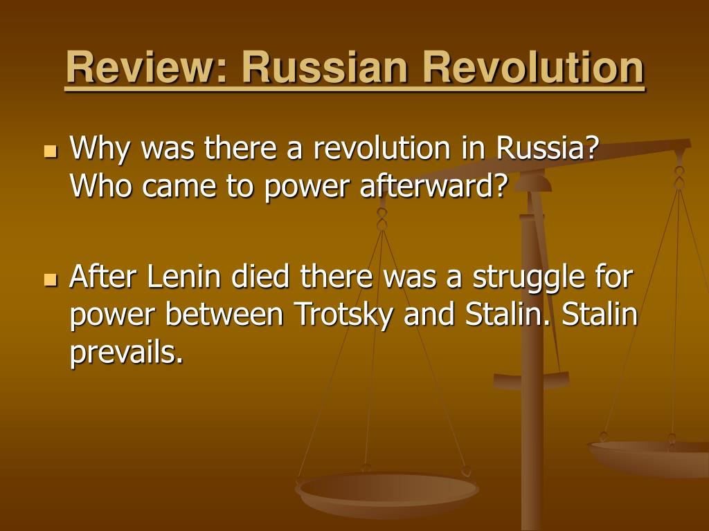 Review: Russian Revolution