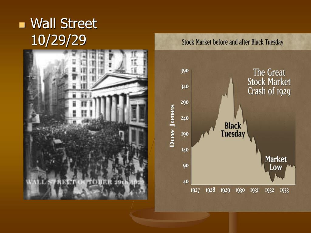 Wall Street 10/29/29