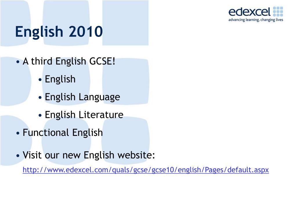 English 2010