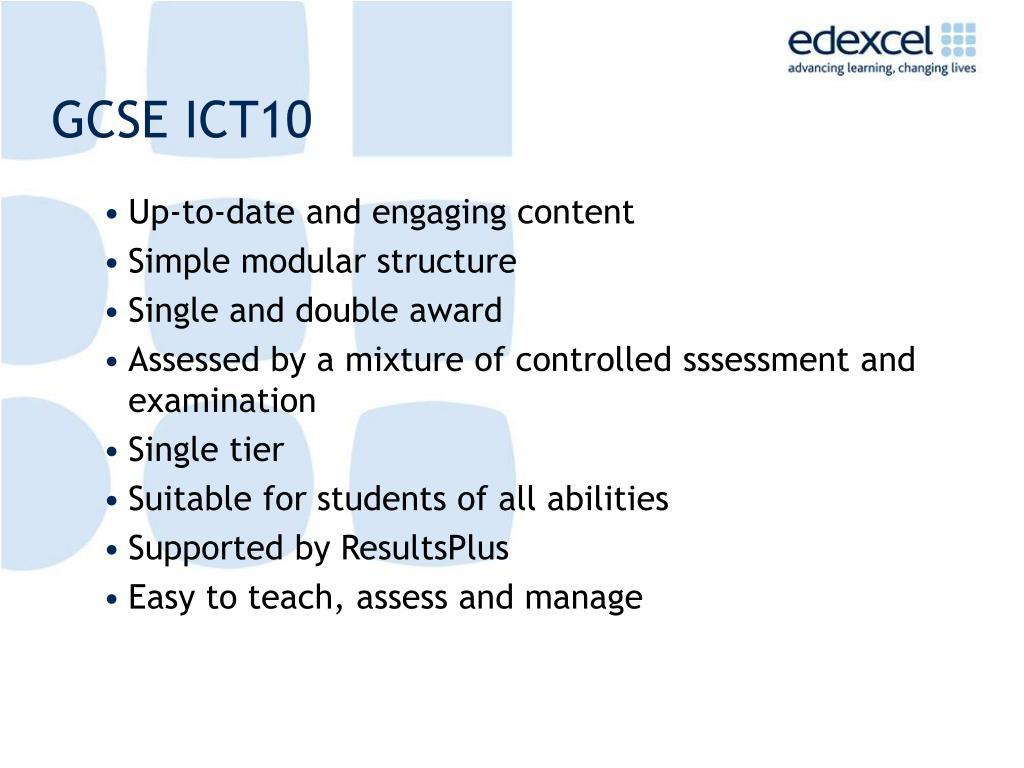 GCSE ICT10