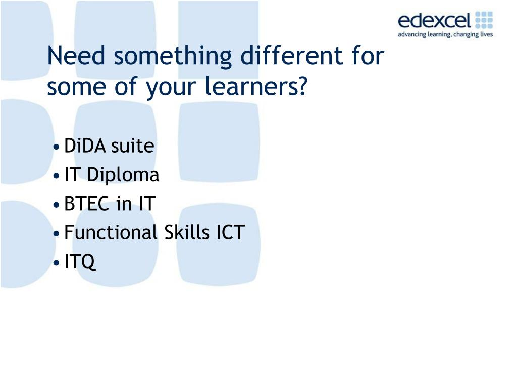 Need something different for some of your learners?