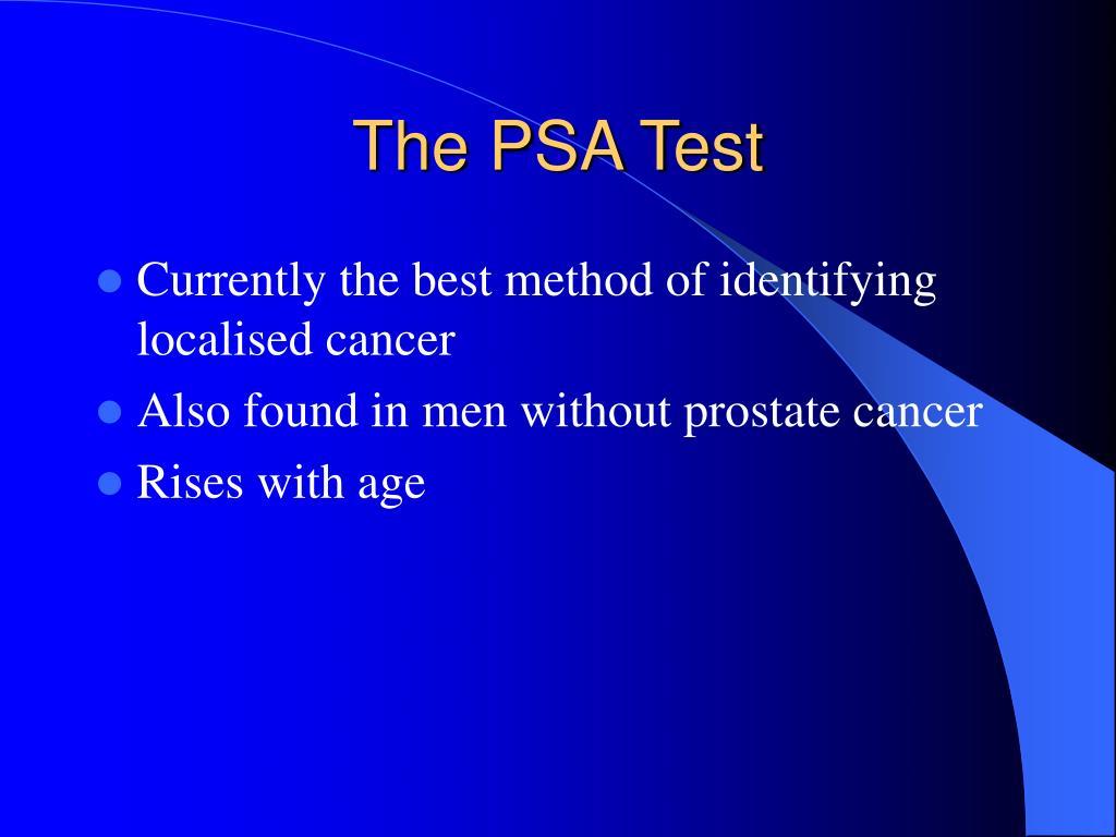 The PSA Test