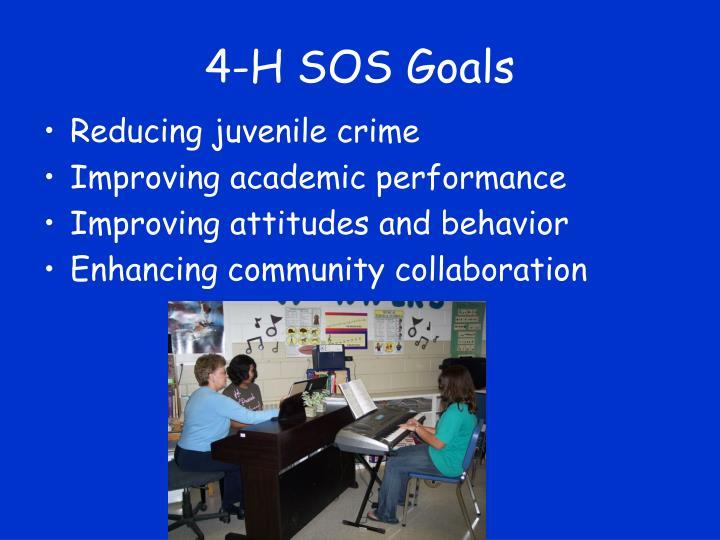 4-H SOS Goals