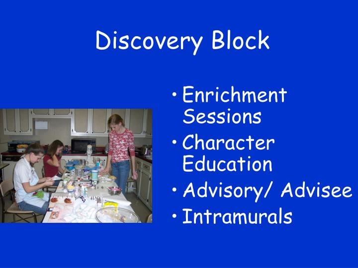Discovery Block