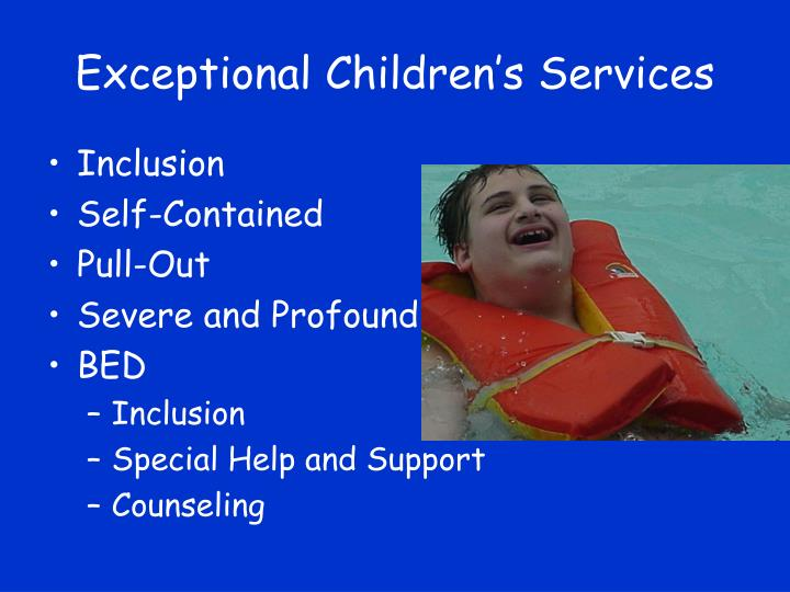 Exceptional Children's Services